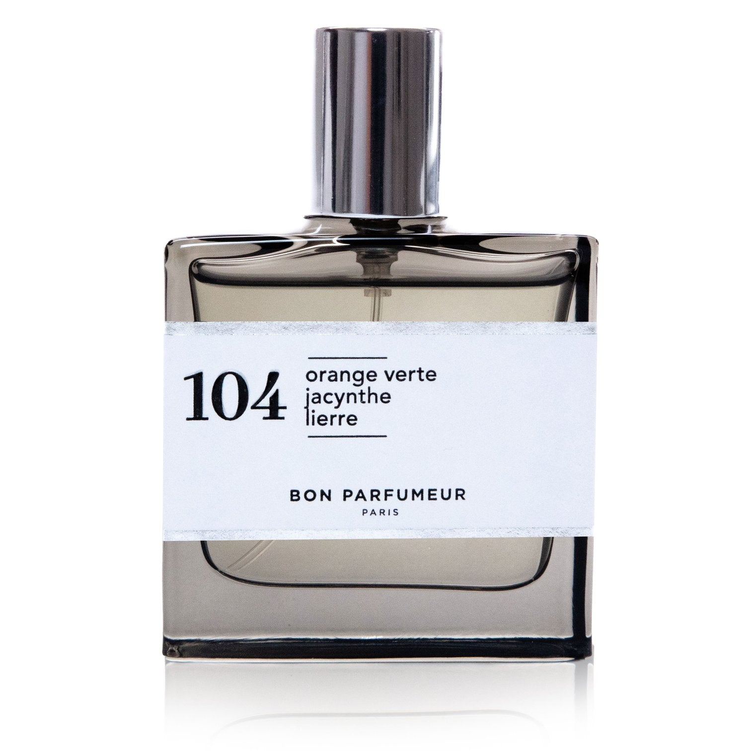 Eau de parfum 104: green orange, hyacinth and ivy