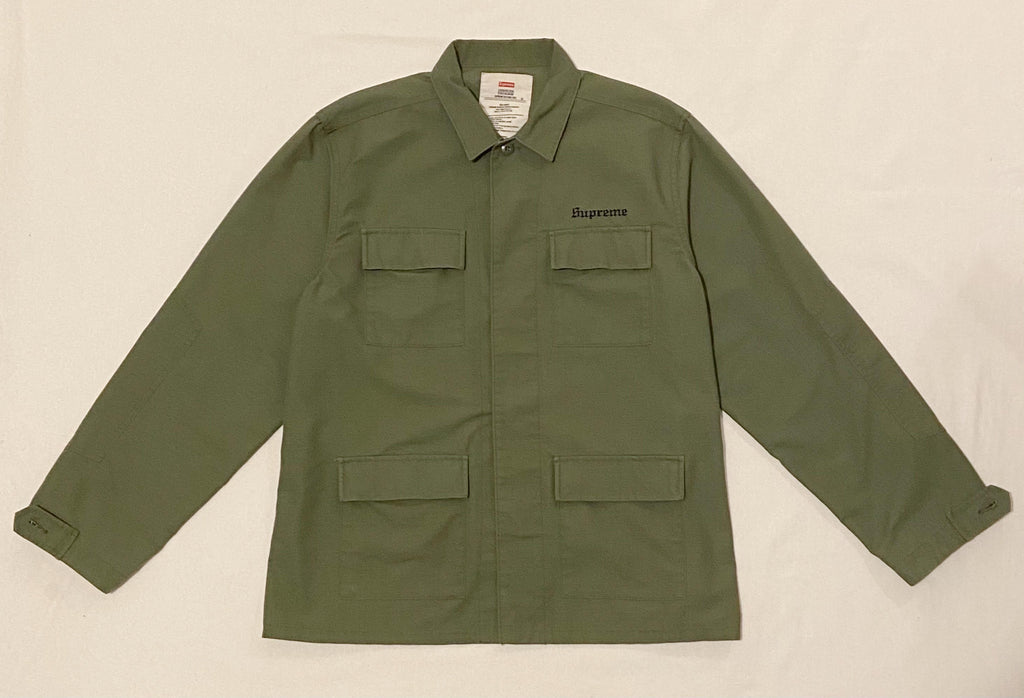Supreme x Hellraiser M65 Green Jacket
