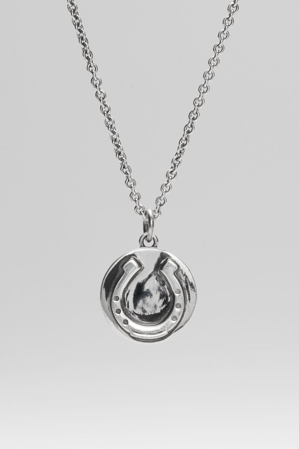 Horseshoe Pendant + Chain