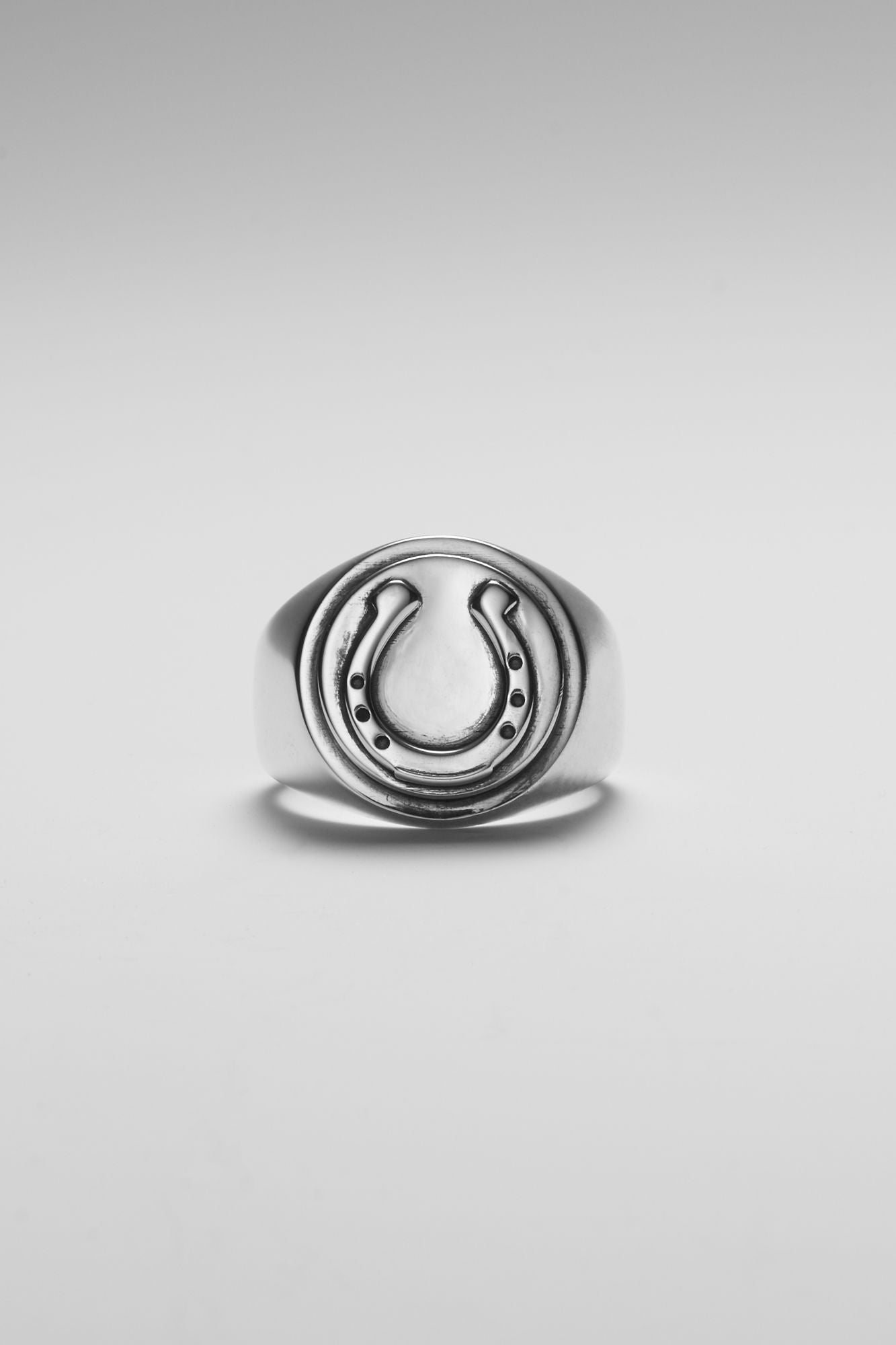 Horseshoe Signet Ring