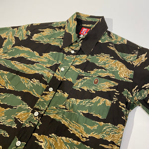 A Bathing Ape Camo Shortsleeved Shirt