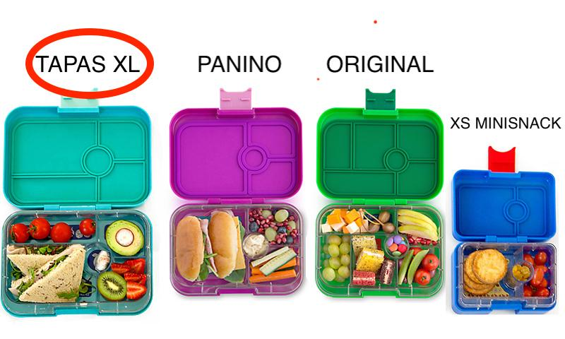 Yumbox XL Tapas 4 compartments - Portofino blue