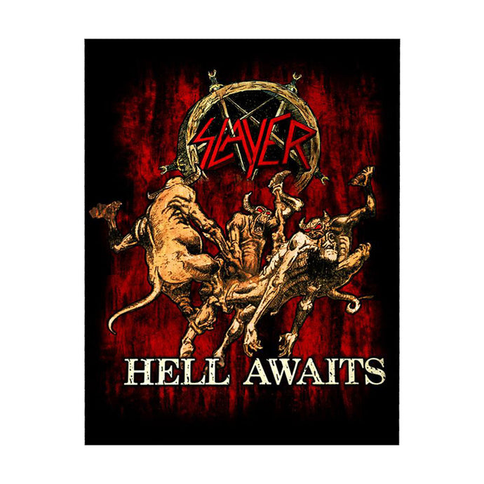 Hell Awaits Back Patch