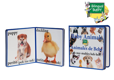 Bilingual Bunny Baby Animals