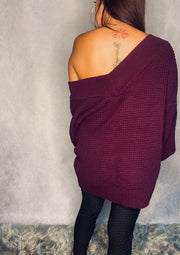 PLUM SWEATER