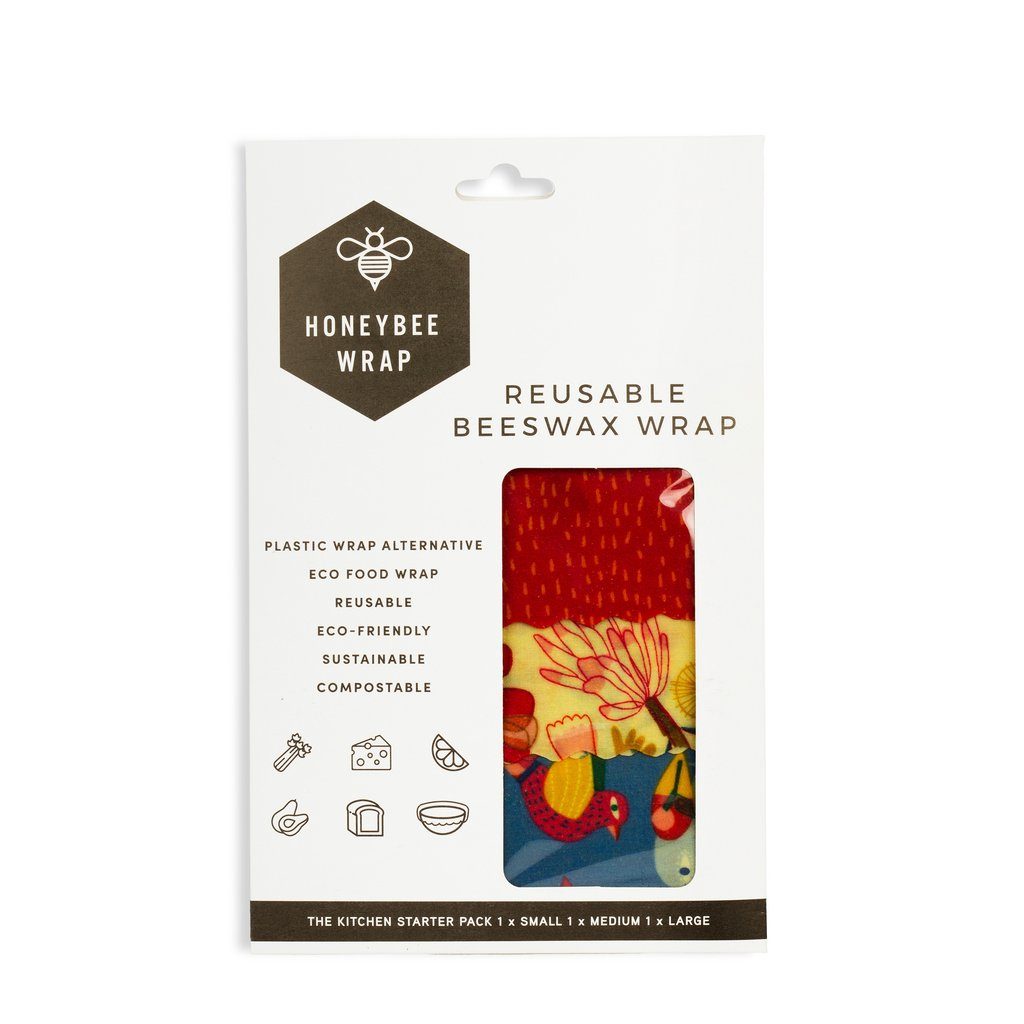 Honeybee Wrap - Beeswax Food Wraps