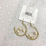 Arch Earrings - Tangled Pearls from have you met charlie a gift shop with Australian unique handmade gifts in Adelaie South Australia