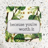 floral quote gift tag by hummingpea from have you met charlie a unique australian gift shop
