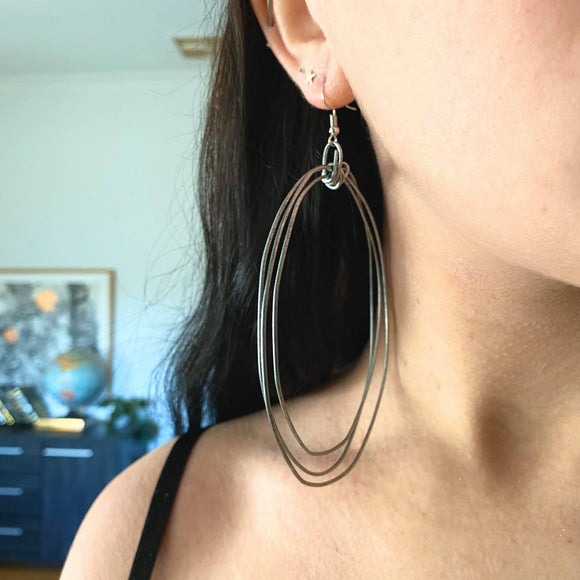 Arch Earrings - Extra Large Hoops from have you met charlie a gift shop with Australian unique handmade gifts in Adelaie South Australia