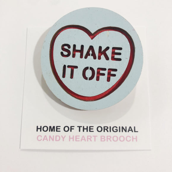 For The Love Of Vintage Brooch - Shake It Off