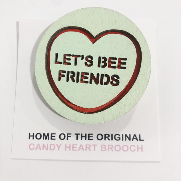 For The Love Of Vintage Brooch - Let's Bee Friends