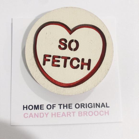For The Love Of Vintage Brooch - So Fetch