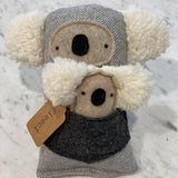koala mama and babe toy by fleeci from have you met charlie? a unique gift shop in adelaide, south australia