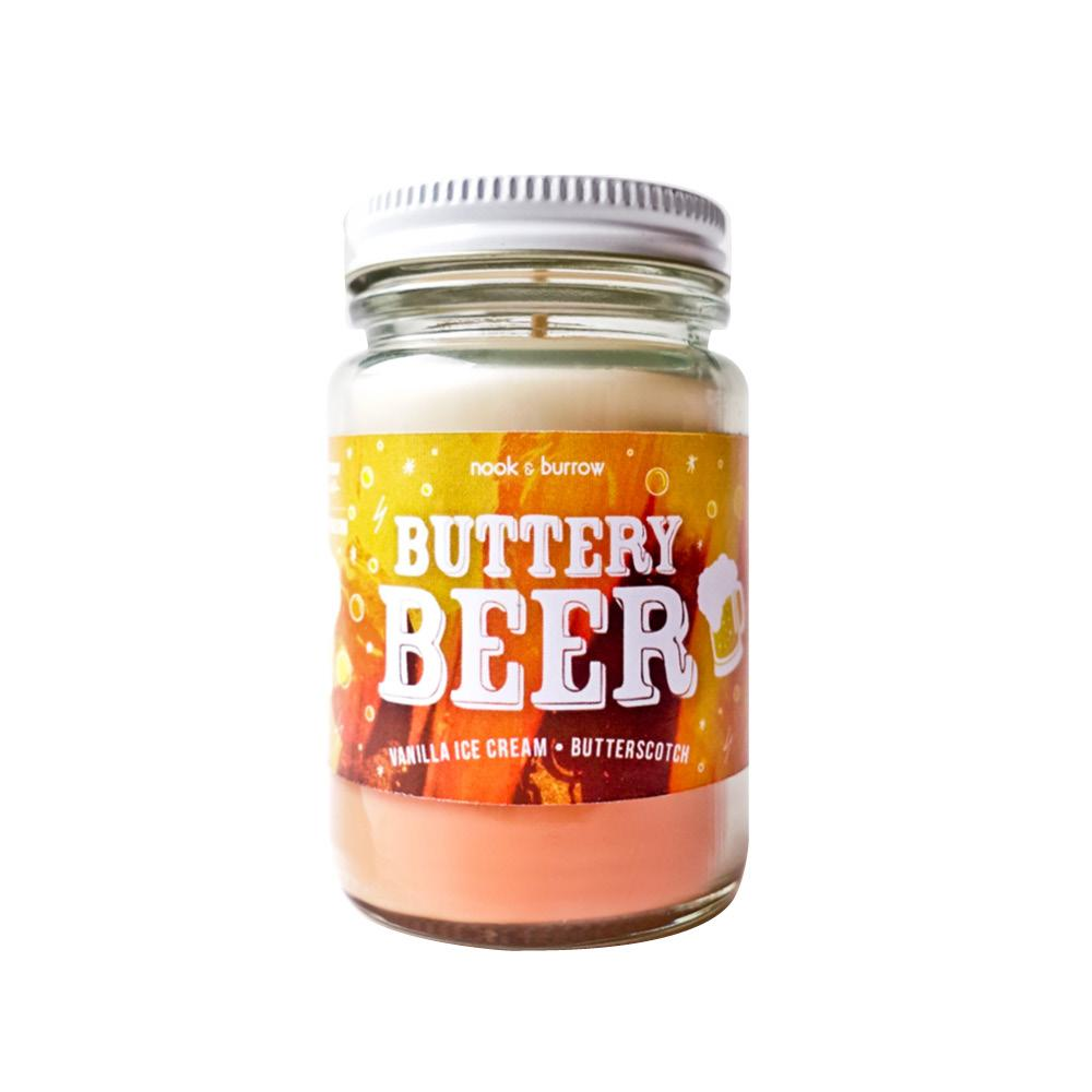 Nook & Burrow Candle - Buttery Beer