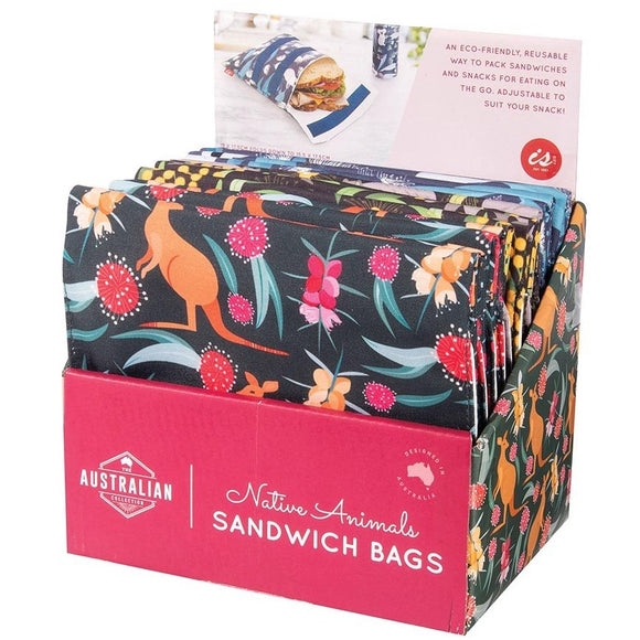 IS Gifts- The Australian Collection Native Animals Sandwich Bags from Have You Met Charlie? a gift shop with unique Australian handmade gifts in Adelaide, South Australia