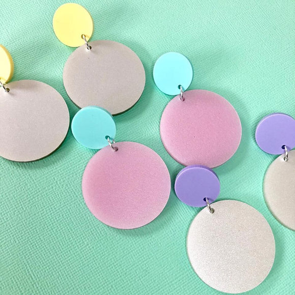 Mintcloud Dangles - Pastel Pops