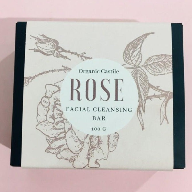 Shave with Valor - Rose Facial Cleansing Bar