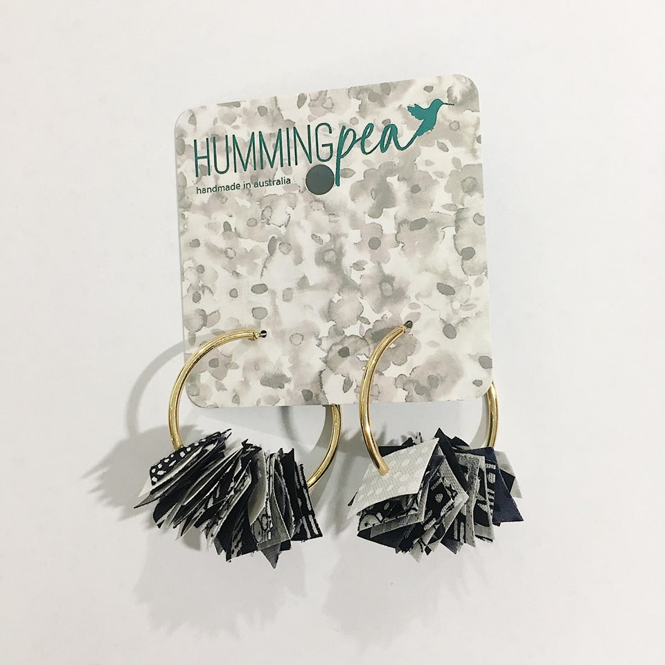 Hummingpea Confetti Hoops - Small