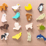 various animals magnet clips from have you met charlie a gift shop with unique handmade australian gifts in adelaide south australia