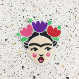 frida kahlo iron on patch by patch press from have you met charlie a gift shop with Australian unique handmade gifts in Adelaide South Australia