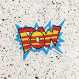 POW iron on patch by patch press from have you met charlie a gift shop with Australian unique handmade gifts in Adelaide South Australia