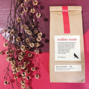 packaging barossa breakfast loose leaf tea by scullery made tea from have you met charlie a gift shop with unique australian handmade gifts in adelaide south australia