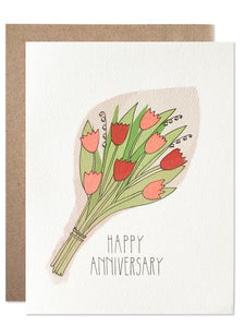 Hartland Brooklyn Card - Happy Anniversary