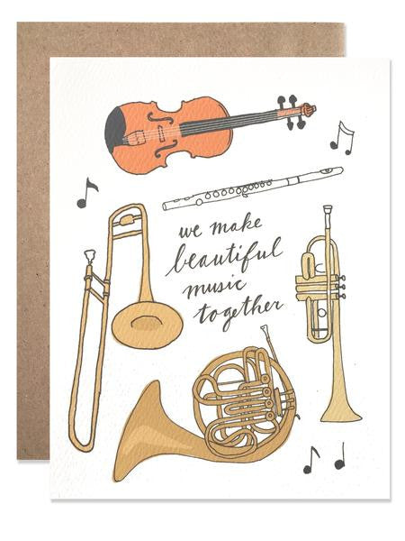 Hartland Brooklyn Card - Beautiful Music