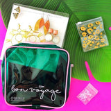 large green pink earring travel case by bon maxie from have you met charlie a gift shop with Australian unique handmade gifts in Adelaide South Australia