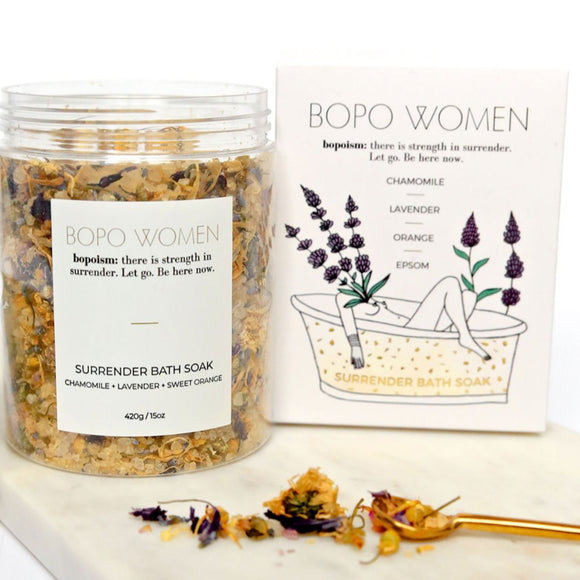 bopo women organic vegan cruetly free sacred surrender bath soak made in australia from have you met charlie a unique gift shop in adelaiade south australia