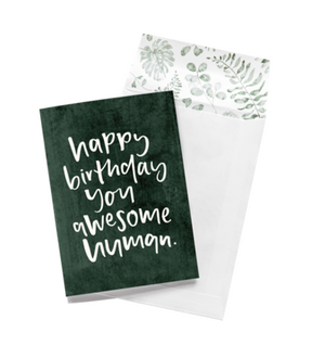 Emma Kate Co Greeting Card - Happy Birthday You Awesome Human