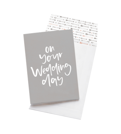 Emma Kate Co Greeting Card - On Your Wedding Day