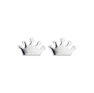 Sterling Silver Studs - Crowns