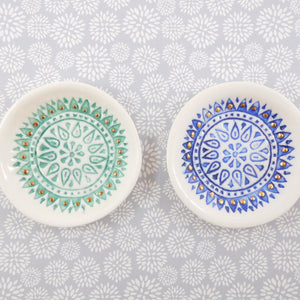 Tea 4 Two Art Jewellery Dish - Small Mandala
