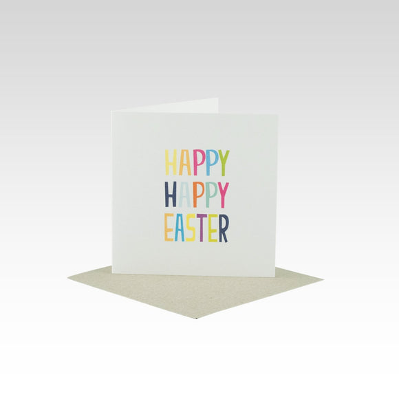Rhi Creative Card - Happy Happy Easter