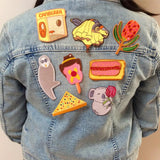 iron on patch by missy minzy from have you met charlie a gift shop with Australian unique handmade gifts in Adelaide South Australia