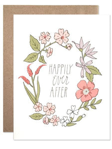 Hartland Brooklyn Card - happily Ever After Wreath