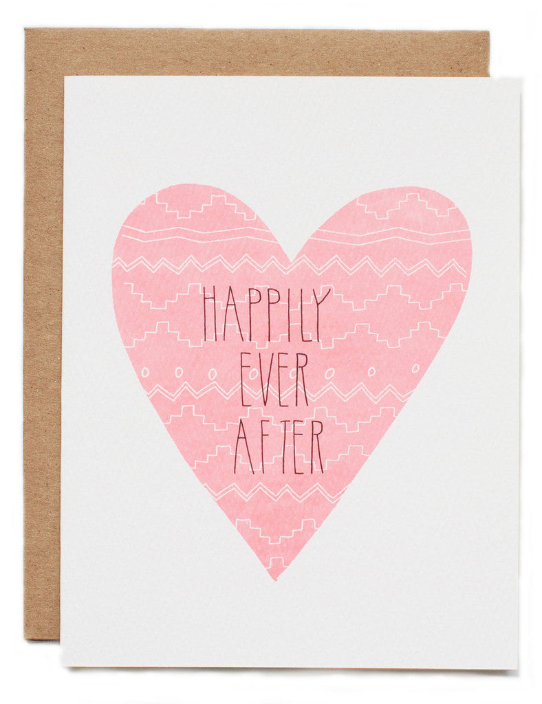 Hartland Brooklyn Card - Happily Ever After