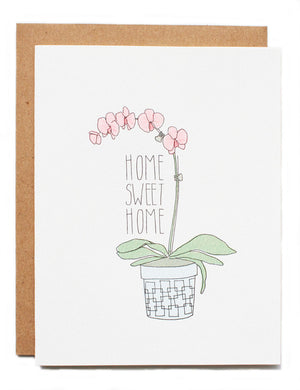 Hartland Brooklyn Card - Home Sweet Home