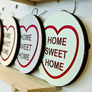 For The Love Of Vintage Wall Hanging - Home Sweet Home