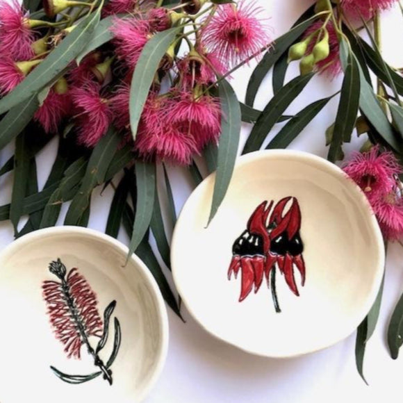 RJ Crosses Ring Dish - Botanicals from have you met charlie a gift shop with Australian unique handmade gifts in Adelaide South Australia