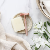 ever eco rose gold safety razor from have you met charlie a unique gift shop in adelaide south australia