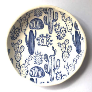 RJ Crosses Jewellery Dish - Cacti from have you met charlie a gift shop with Australian unique handmade gifts in Adelaide South Australia