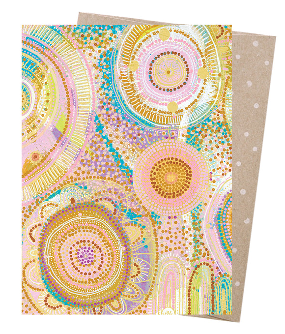 Natalie Jade Greeting Card by Earth Greetings - Mermaid Waters