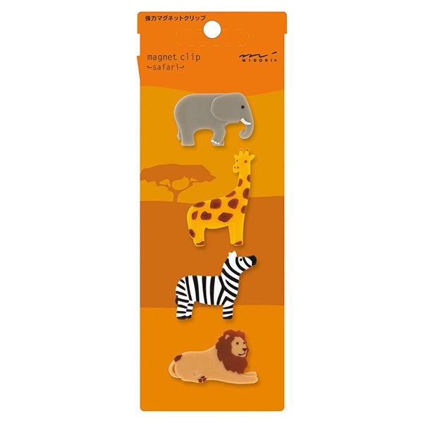 Magnet Clip Set - Safari