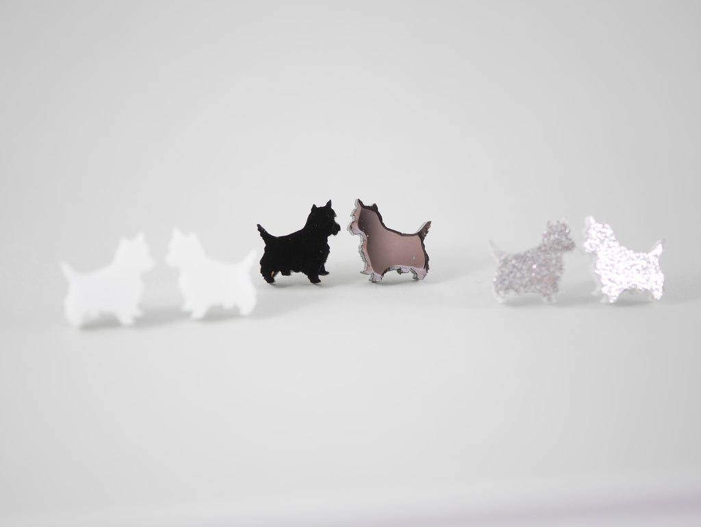 Mintcloud Earrings - Westie