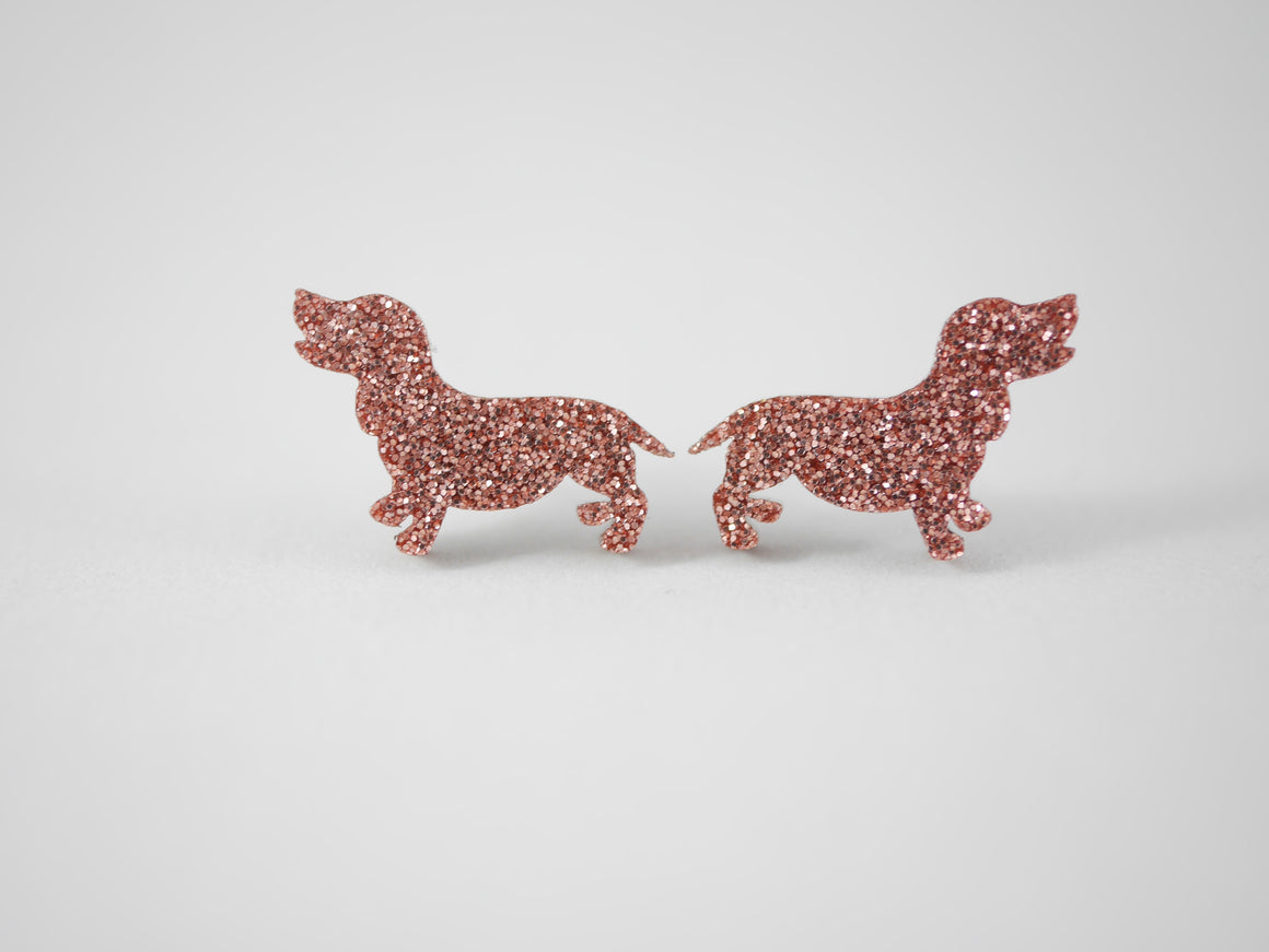 Mintcloud Earrings - Dachshund