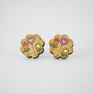 Mintcloud Earrings - Springtime Bloomer