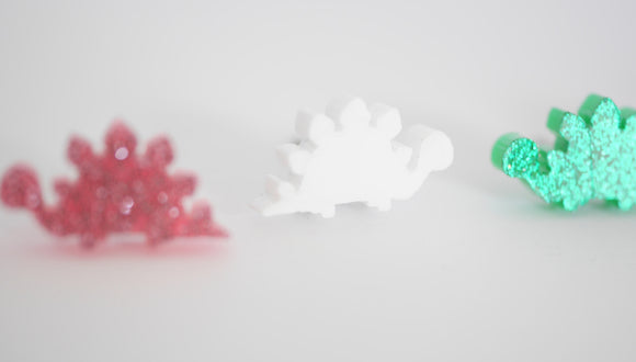 Mintcloud Earrings - Stegosaurus