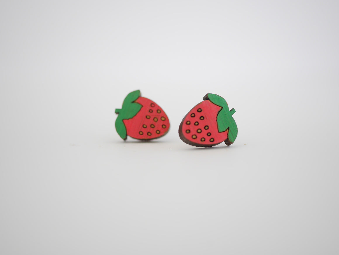 Mintcloud Earrings - Strawberry